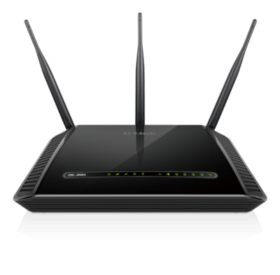 D-Link Dual Band Wireless AC1600 Gigabit ADSL2+/VDSL2 Modem Router DSL-2888A