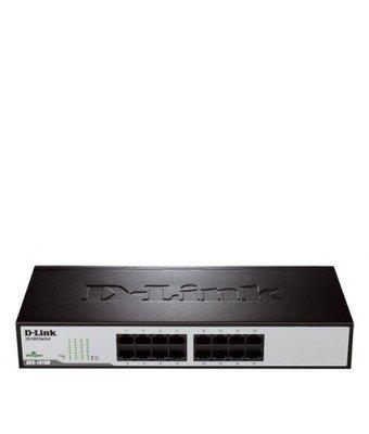 D-Link 16-Port Fast Ethernet Desktop/Rackmount Switch DES-1016D