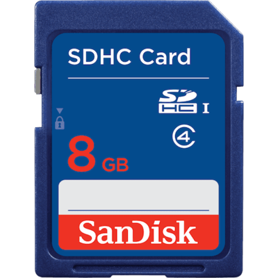 Sandisk SDHC Memory Card Class 4 8GB