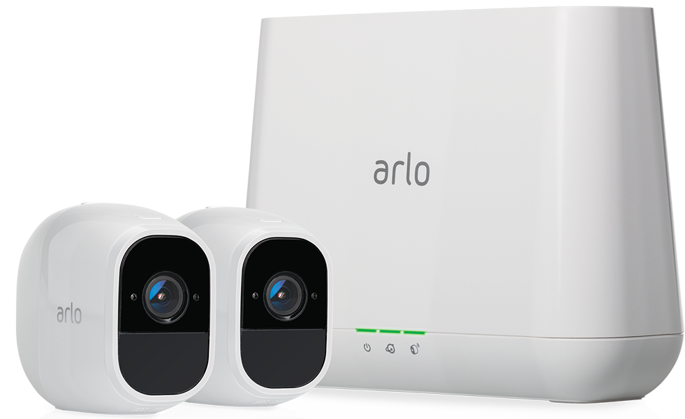 Netgear Arlo Pro 2 Smart Security System with 2 Cameras VMS4230P-100EUS