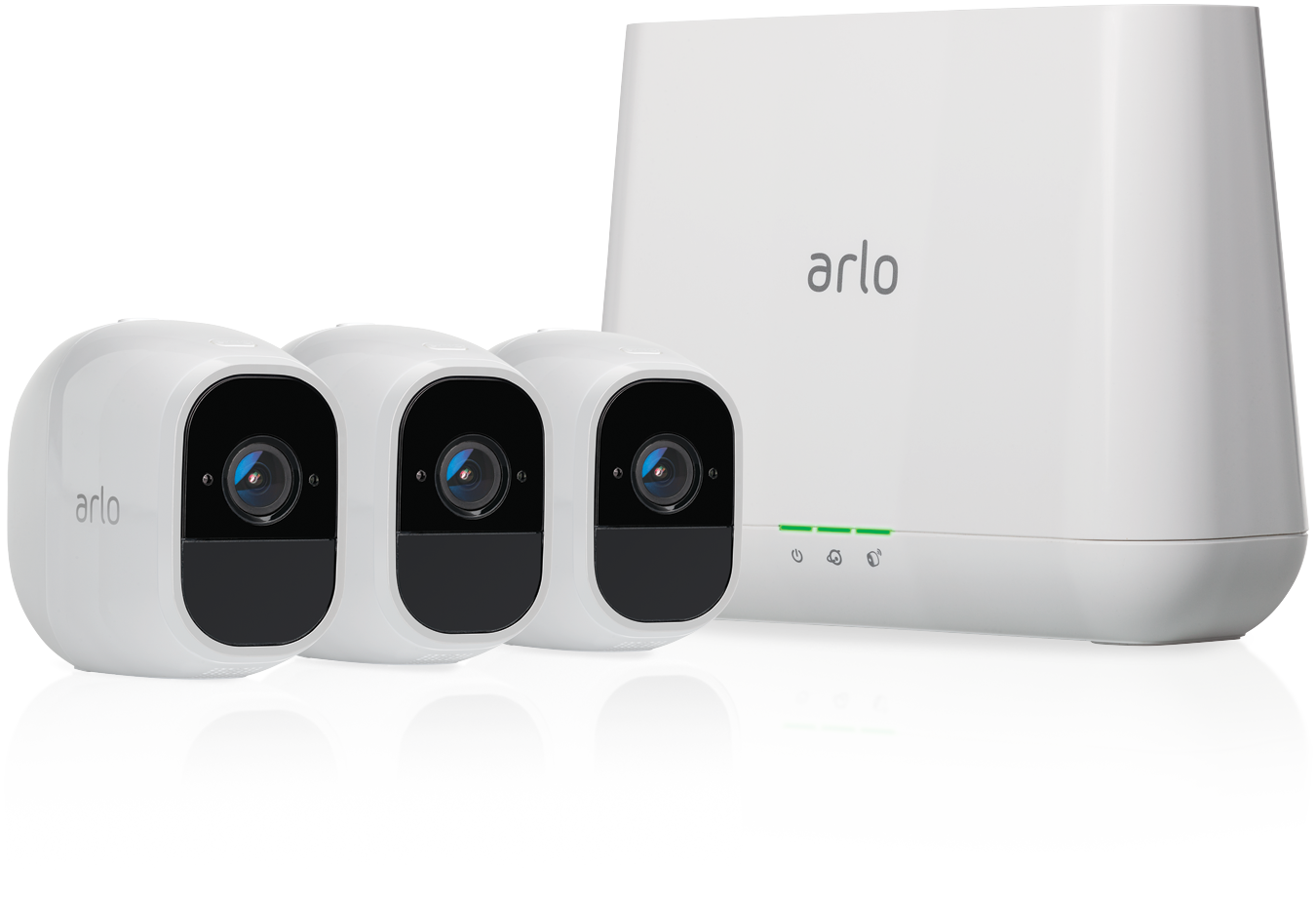 Netgear Arlo Pro 2 Smart Security System with 3 Cameras VMS4330P-100EUS