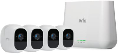 Netgear Arlo Pro 2 Smart Security System with 4 Cameras VMS4430P-100EUS