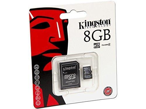 Kingston microSDHC Card Class 4 8GB