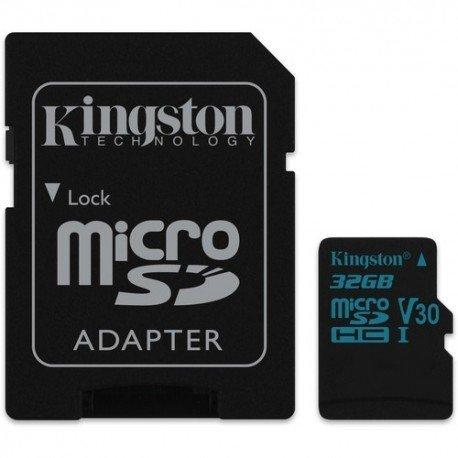 Kingston Canvas Go! Class 10 UHS-I U3 microSDHC/SDXC 32GB
