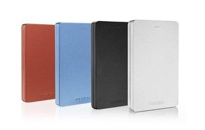 Toshiba Canvio Alu Portable Hard Drives 1TB