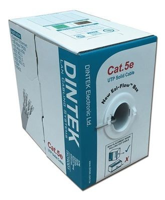 Dintek PowerPRO Cat.5e UTP 24AWG PVC Cable (305M/Box) 1101-03331