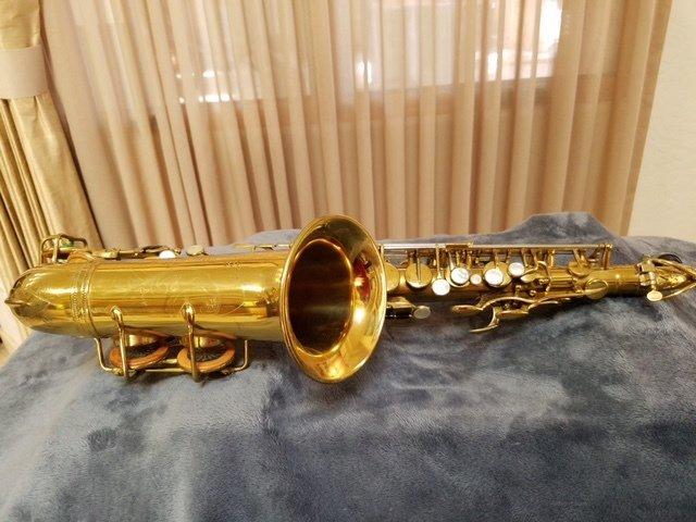 Used Selmer Super (Cigar Cutter) Alto Saxophone
