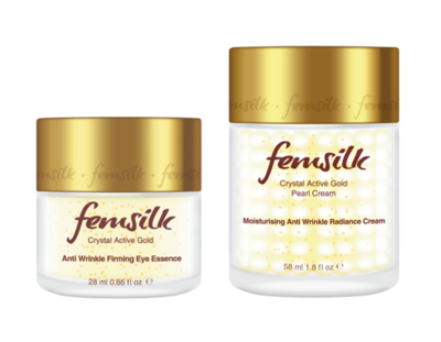 Special Offer: Femsilk Crystal Active Gold Skin Care Set