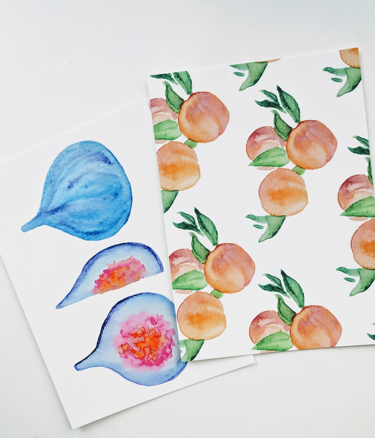 Watercolor Postcards - Assorted, Pick Any 4