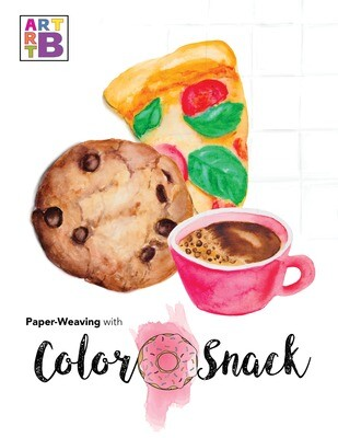 Color Snack Paper Weaving Activity Book