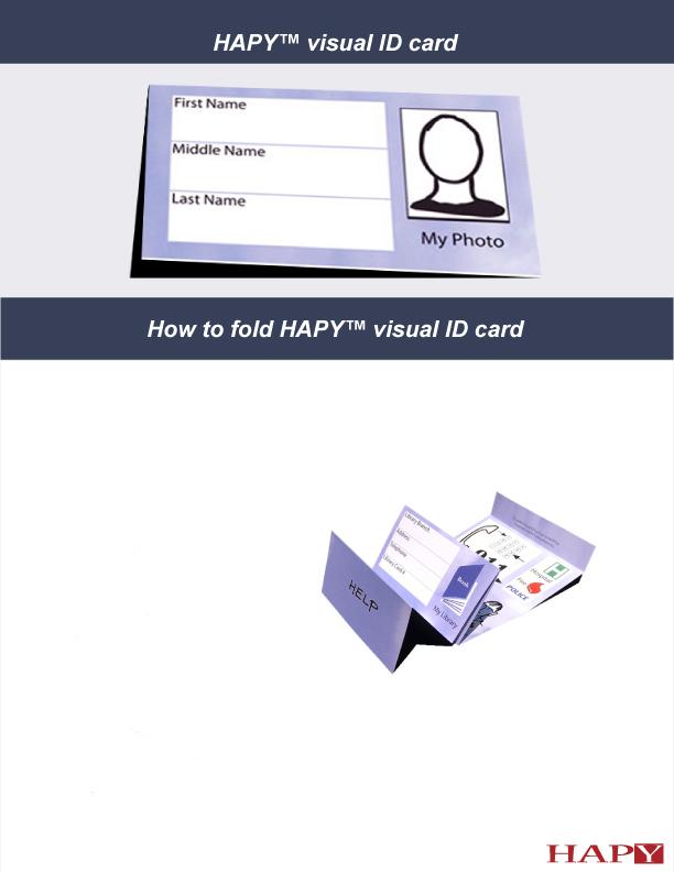 Visual ID card