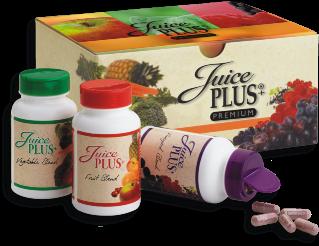 Juice Plus Premium Groente Fruit en Bessen Capsules