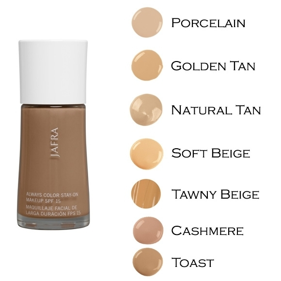 Always Color Stay-on Makeup SPF 15 - NATURAL TAN