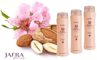 Royal Almond Body Oil Set: