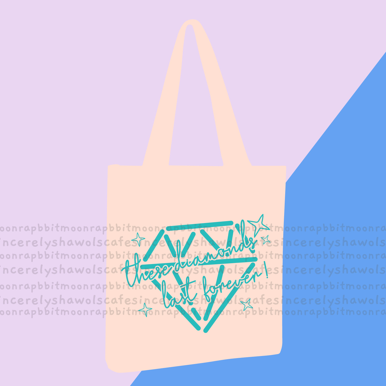 PRE-ORDER  Diamond last forever Tote