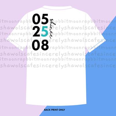 PRE-ORDER  052508 Shinee Shirt White