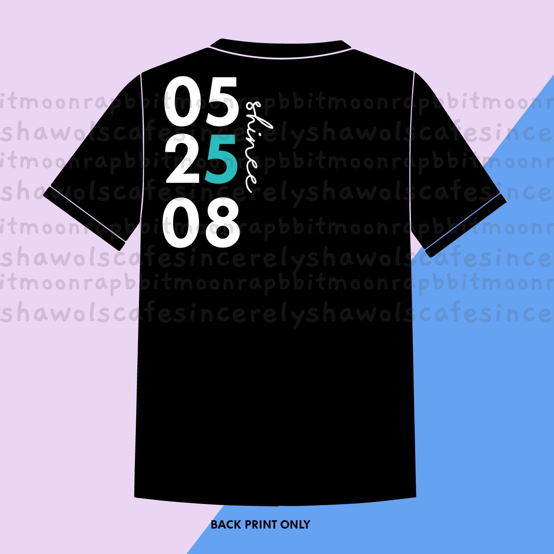 PRE-ORDER  052508 Shinee Shirt Black