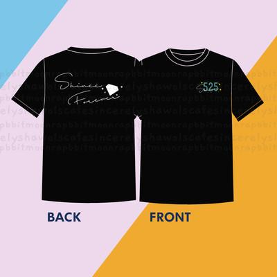 PRE-ORDER  Shinee Forever Shirt  Black