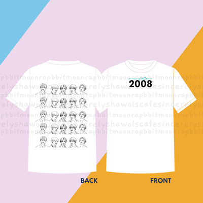PRE-ORDER  Receiving Light Since 2008 Shirt White