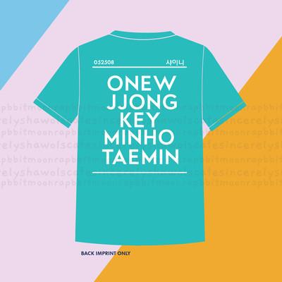 PRE-ORDER  Shinee Shirt Pearl Aqua