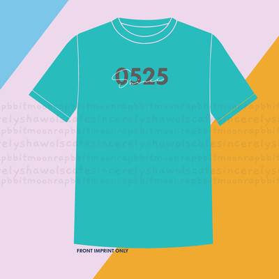 PRE-ORDER 0525 Shinee Shirt Pearl Aqua