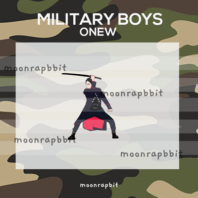 PREORDER MILITARY BOYS ONEW