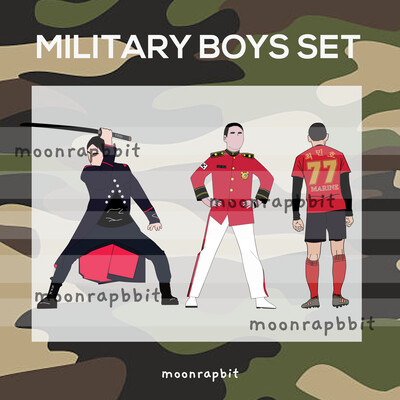 PREORDER MILITARY BOYS SET 1