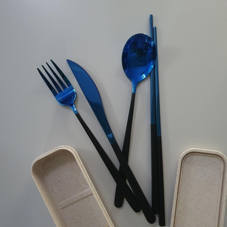 Sincerely Shawols Metal Spoon Fork Knife Chopstick