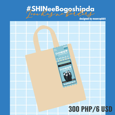 PRE-ORDER  TIKCET TO SHINEE Tote