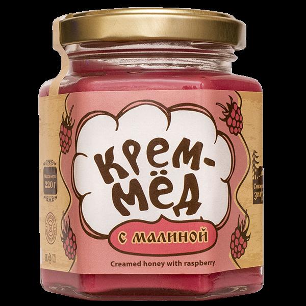 Крем-мёд с малиной , 220г