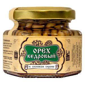 Орех кедровый в сосновом сиропе, 110г