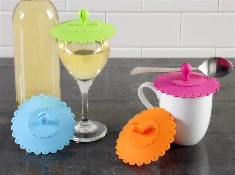 Mini-Silicone Lids by Color Factory 01845