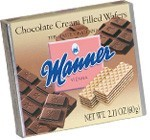 Manner Wafers, Chocolate 01527