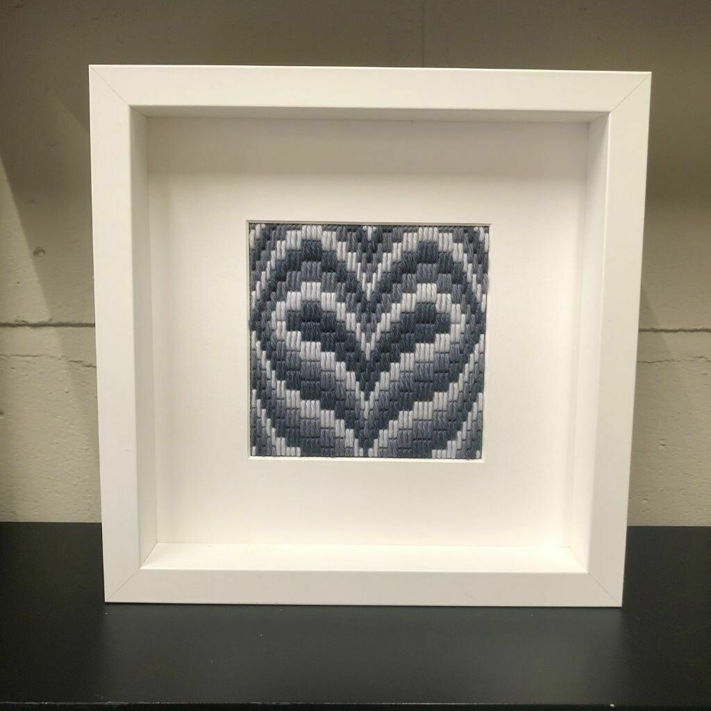 Listen to your Heart - Bargello stitch kit
