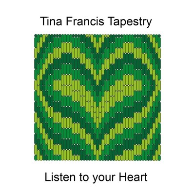 Listen to your Heart - Bargello stitch kit