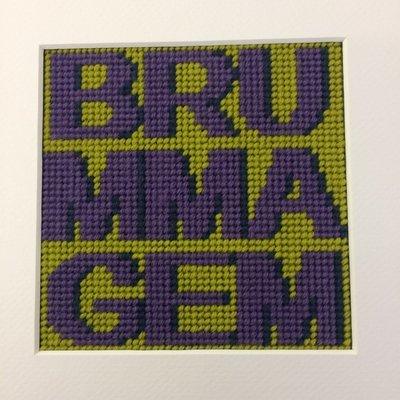 Words - Brummagem Tapestry kit