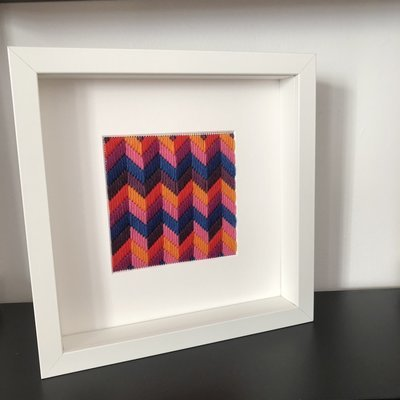 Bargello Zig Zag - framed kit