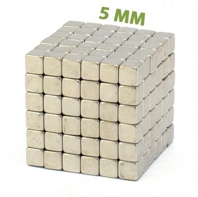 Неокуб Тетракуб 5 мм 6x6x6=216 шт. стальной
