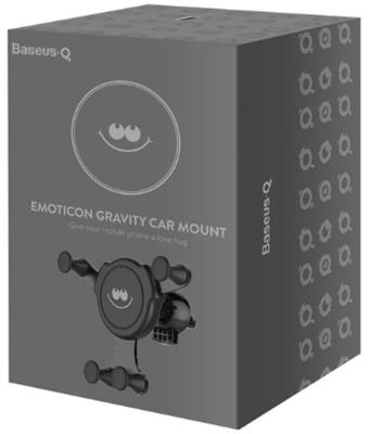 Автомобильный держатель Baseus Q Emoticon Gravity Car Mount
