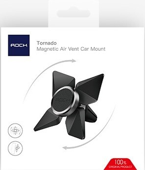 Автомобильный магнитный держатель Rock Tornado Magnetic Air Vent Car Mount
