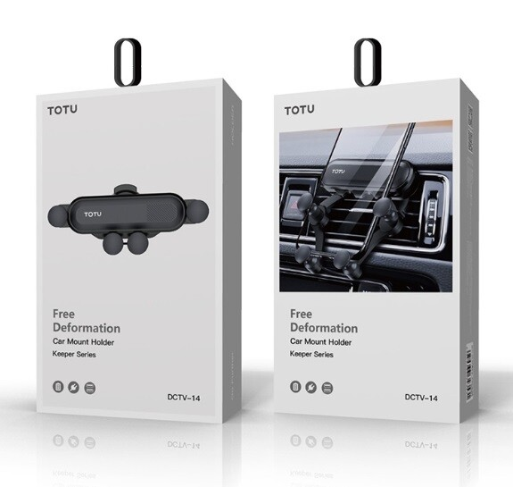 Автомобильный держатель Totu Car Mount Holder Free Deformation Keeper Series (DCTV-14)