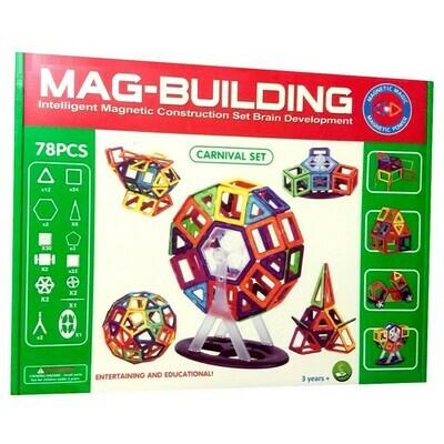 Магнитный конструктор Mag-Building, 78 деталей