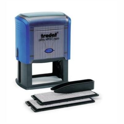 TRODAT 4927/DB TYPO PRINTY Автоматический самонаборный штамп 8 строк, 2 кассы (размер штампа 60 х 40 мм.)