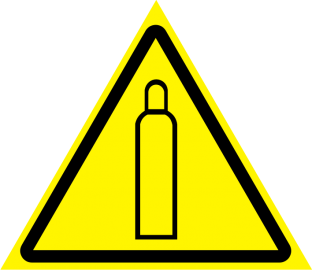 Наклейка Газовый баллон