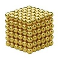 Неокуб 5 мм 6x6x6=216 шт. золотой