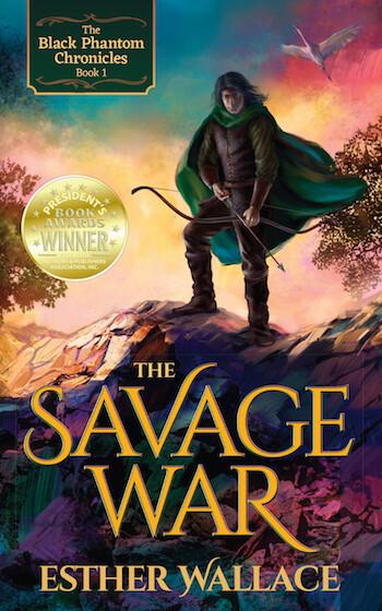 The Savage War: The Black Phantom Chronicles - Book 1 (paperback)