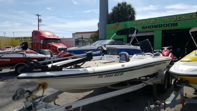 2002 Cobra Viper Bass Boat with 2002 Mercury 225 EFI Motorguide 24V 82lb. Thrust Tour Edition Electric Motor HomeJet Boat