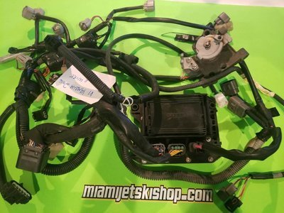 2016 YAMAHA V1 WIRE COMPLETE W / ELECTRICAL BOX ACCELERATOR SENSOR & WIRE HARNESS