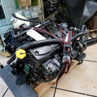 2014 SEA DOO COMPLETE ENGINE 130/155 INJECTOR - EXHAUST- HARNESS