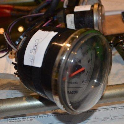 SeaDoo-Tachometer-Gauge-98-GTX-RFI-278001246-OEM-RPM-0-to-8k